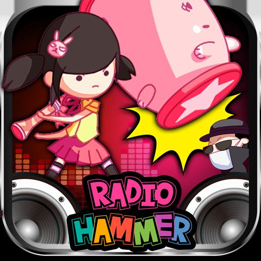 R&Bからロックまですべての曲がオリジナル楽曲!リズムに合わせて敵を倒すリズムアクションゲーム「ラジオハンマー」が2014年12月18日(木)よりauスマートパスにてサービス開始!