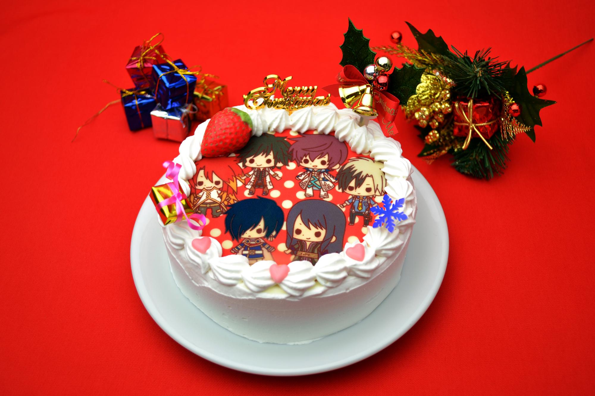 『テイルズ オブ』シリーズのキュートなキャラクター達とクリスマスをお祝いしよう! 「テイルズ オブ フレンズ 2014限定クリスマスケーキ」発売決定