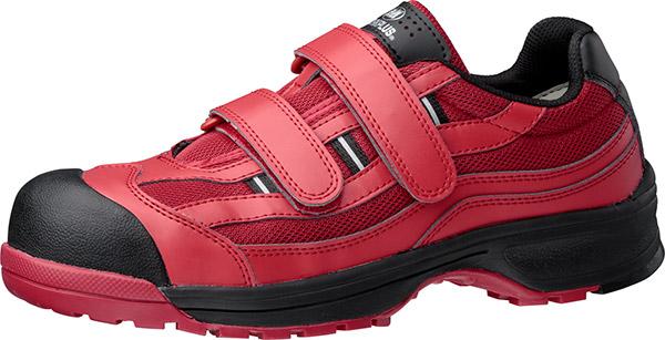 安全靴は暖色系カラーが流行の兆し!? ユーザー投票1位のワイン系レッドカラー トウガード付きプロテクティブスニーカー 「MPN-905 レッド」 1/21(水) 新発売