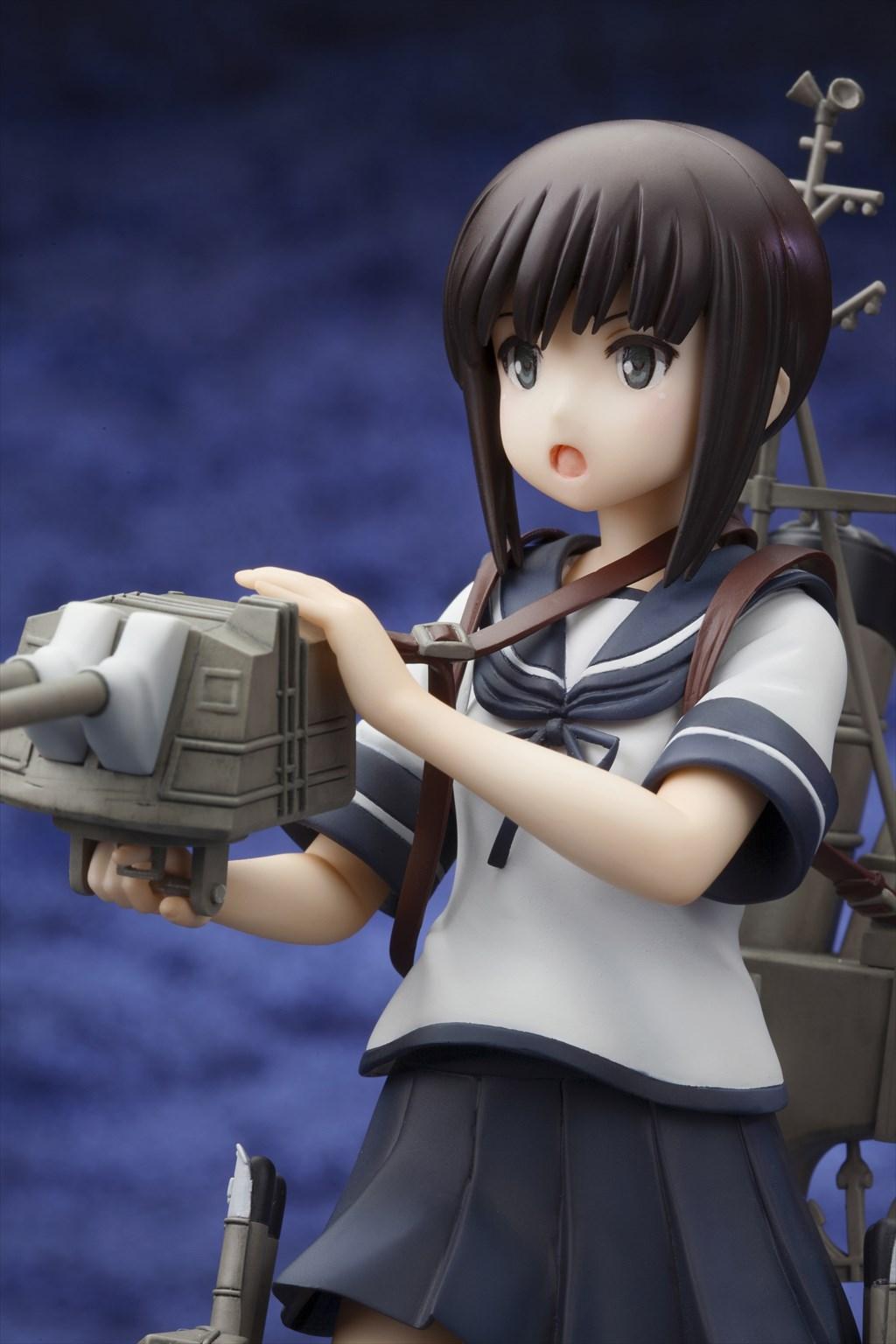『艦隊これくしょん -艦これ-』より、しばふ氏イラストの駆逐艦「吹雪」フィギュアが2015年6月に出撃!