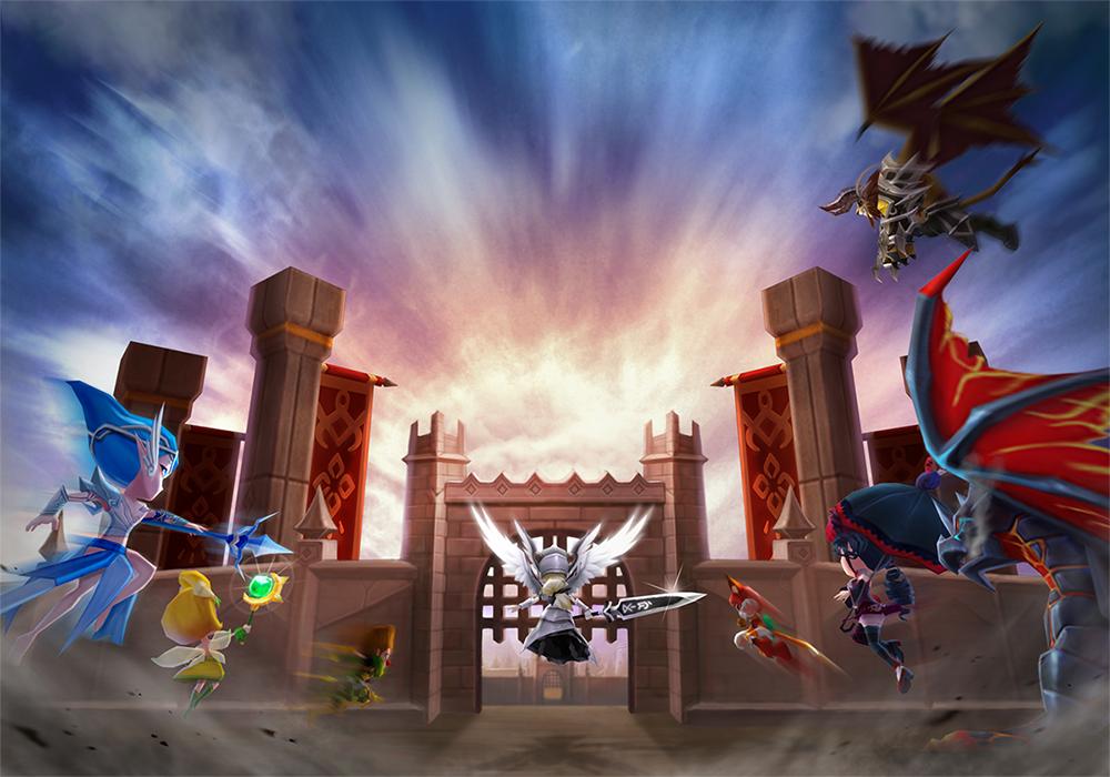 """全世界で3,000万ダウンロードを突破したスマートフォン向けRPG『サマナーズウォー:Sky Arena』の世界を再現した""""サマナーズカフェ""""が東京・秋葉原に期間限定オープン!"""