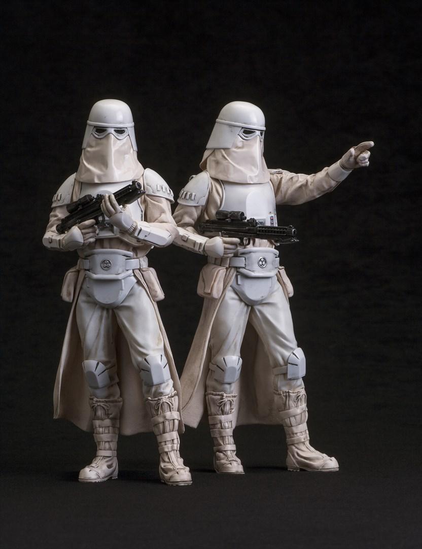 『スター・ウォーズ エピソード5 / 帝国の逆襲』よりスノートルーパーが2パックで2015年9月に発売
