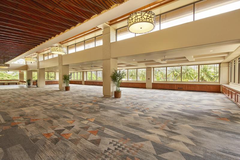 ヒルトン・ハワイアン・ビレッジ タパ・タワー会議施設の改修工事が終了