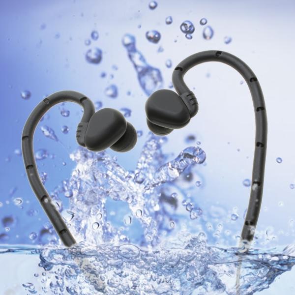 【上海問屋限定販売】 IPX8対応のイヤホン 防水だから突然の雨やお風呂での使用も安心 防水 カナル型イヤホン 販売開始