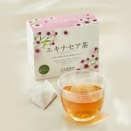 ~インフルエンザ、風邪予防は免疫力アップから~<br />400年前からネイティブ・アメリカン御用達の健康茶登場<br />国産原料100%「エキナセア茶」 新発売