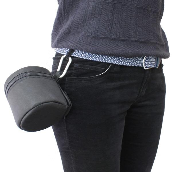 【上海問屋限定販売】 カメラ小僧(紳士)の必需品 予備のカメラ・レンズを保護しながら持ち歩こう カメラ用レンズケース 販売開始