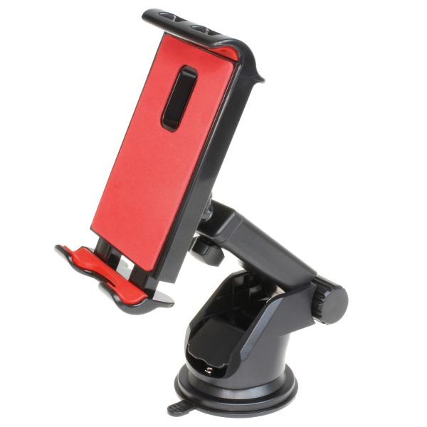 ダッシュボードにスマホやタブレットを簡単セット 伸縮アームで好きな位置にセット可能 伸縮アーム 車載用スマホ・タブレットホルダー 販売開始