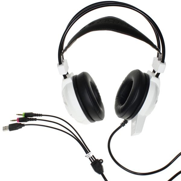 【上海問屋限定販売】 オーディオ信号にあわせてヘッドセットが振動 臨場感がさらにアップ! 振動機能付き ゲーミングヘッドセット 販売開始