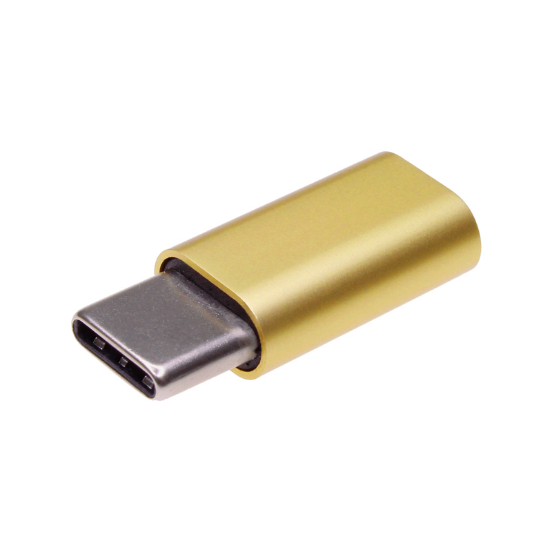 【上海問屋限定販売】 microUSBがType-Cに早変わり 充電・データ転送 どちらにも対応 microUSB to Type-C変換アダプタ(USB2.0) 販売開始