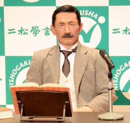 文豪・夏目漱石のアンドロイド化プロジェクトに エーアイのAITalk(R)が採用 ~日本初の教育現場向けアンドロイドに音声合成が利用~
