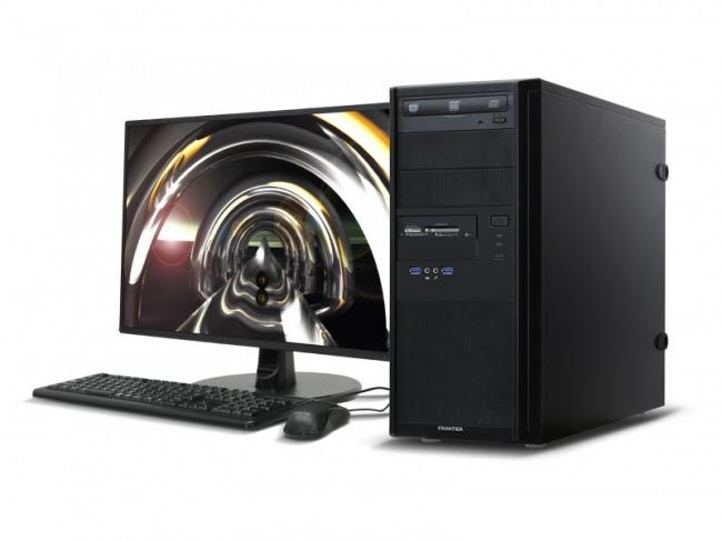 【FRONTIER】大型グラフィックカード搭載可能 高い拡張性とコストパフォーマンスを誇るタワー型PC 新発売