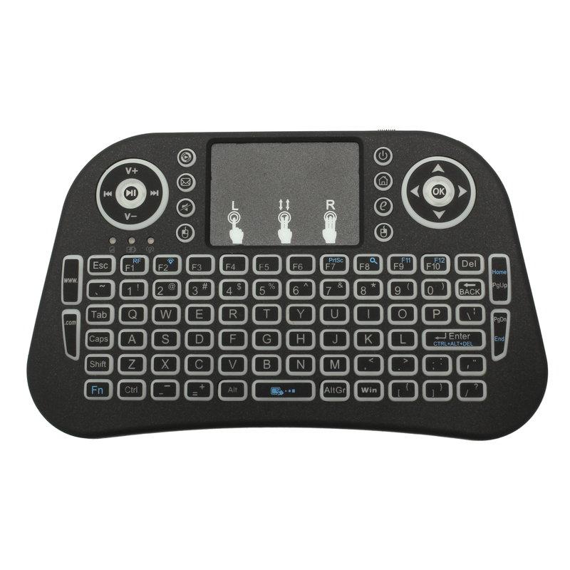 【上海問屋限定販売】 仕事をしていても遊んでいるように見えるキーボード ゲームコントローラー感覚で操作できる タッチパッド搭載 ワイヤレスミニキーボード販売開始