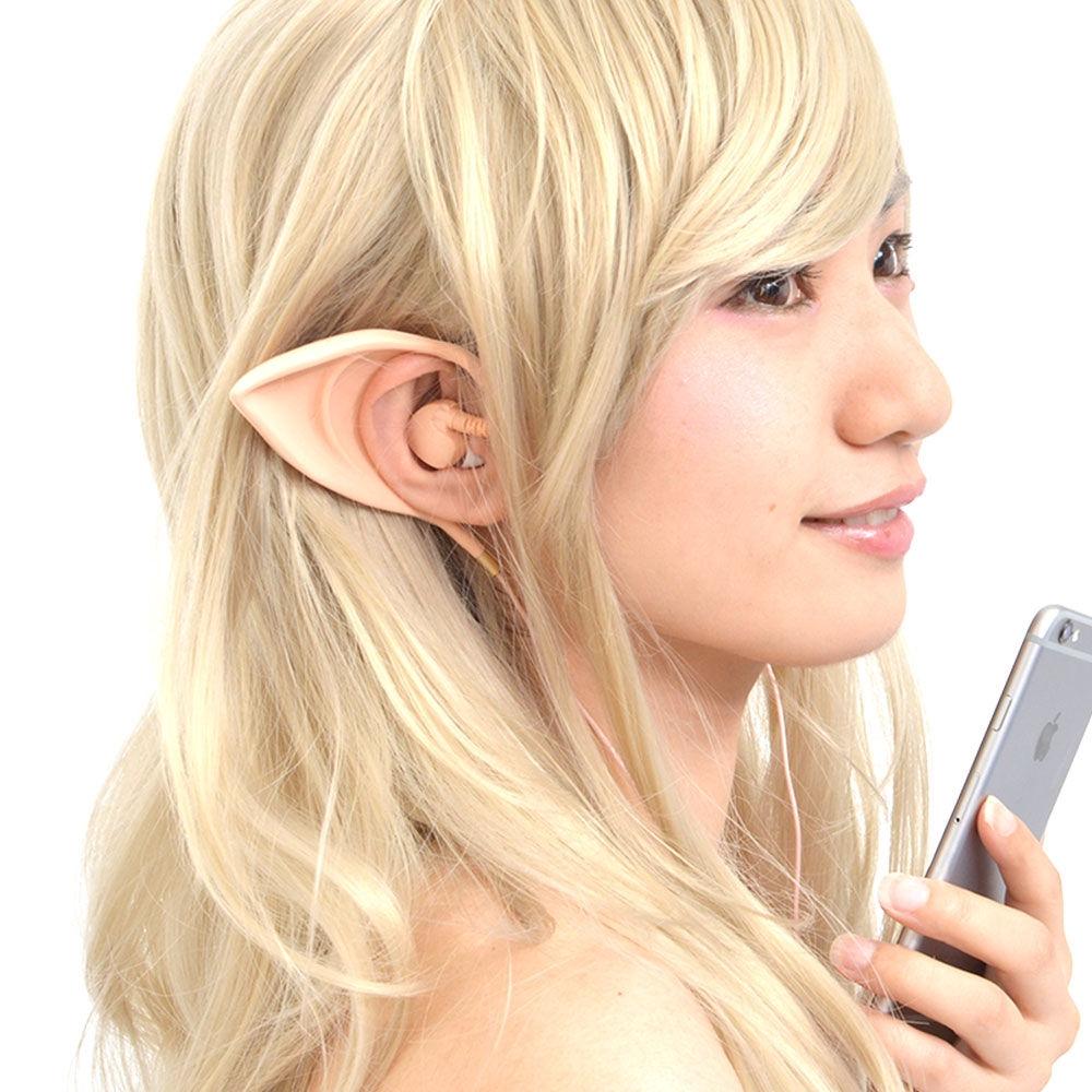 いつでも妖精に変身!つけるだけでエルフ耳になれるとってもかわいい 『妖精に変身!エルフ耳イヤフォン』を発売開始