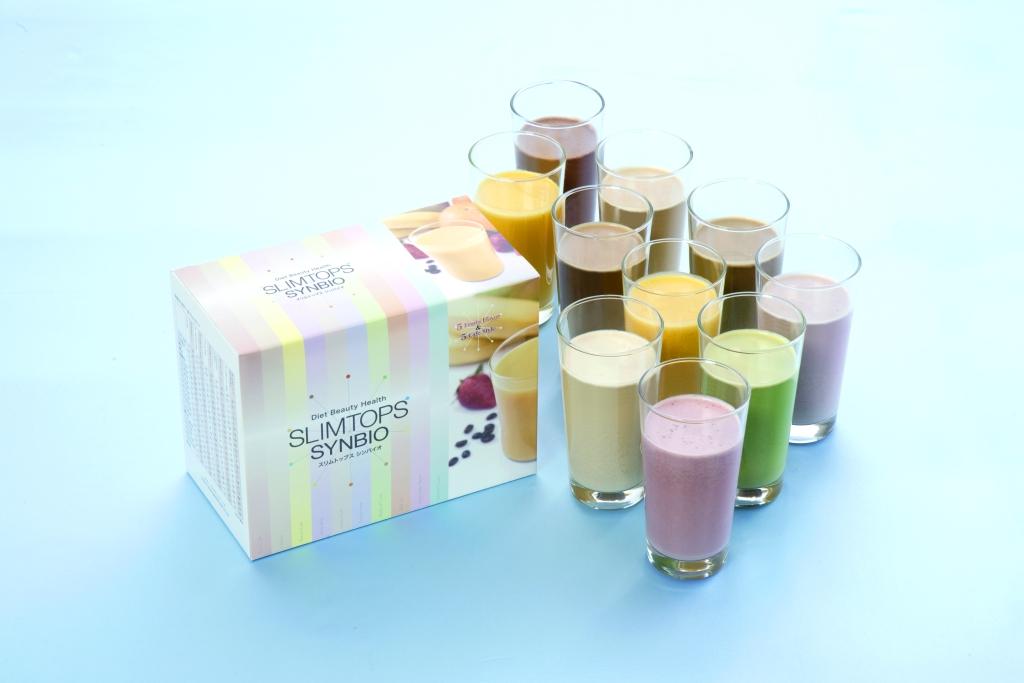 食事置き換え型ダイエット食品 『スリムトップス シンバイオ』リニューアル 3つの有用菌がプラスされ美味しさアップ! ~5.7億の生きた乳酸菌が健康ダイエットをサポート~