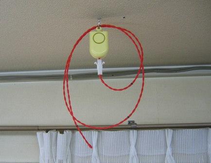 温度感知線による複数場所の温度感知警報ができる/温度感知線警報器の開発新製品