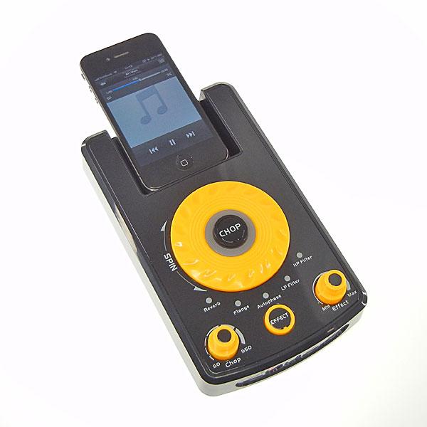 【上海問屋限定販売】iPod、iPhone で手軽にDJ 気分を味わうミュージックサウンド DJ エフェクター販売開始