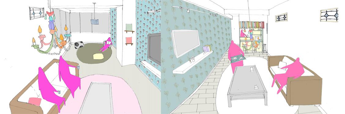 池袋のシェアハウス|HAGU Ikebukuroが内覧会を開催! 女性3人住まいのリノベーション&壁紙色も選べる新しい賃貸のカタチ