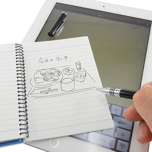 【上海問屋限定販売】出来る社会人の必需品 スマホ操作と直筆サインがこれ一本 スマホ用タッチペン&ボールペン ハケ型だから使いやすいスマホ用タッチペン 2 種販売開始