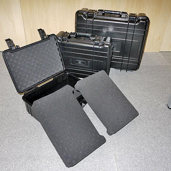 【上海問屋限定販売】 大切なモノを安心して運びましょう カメラや精密機器、大切なコレクションなどをしっかり守る 防水・防塵ケース 3サイズ 販売開始