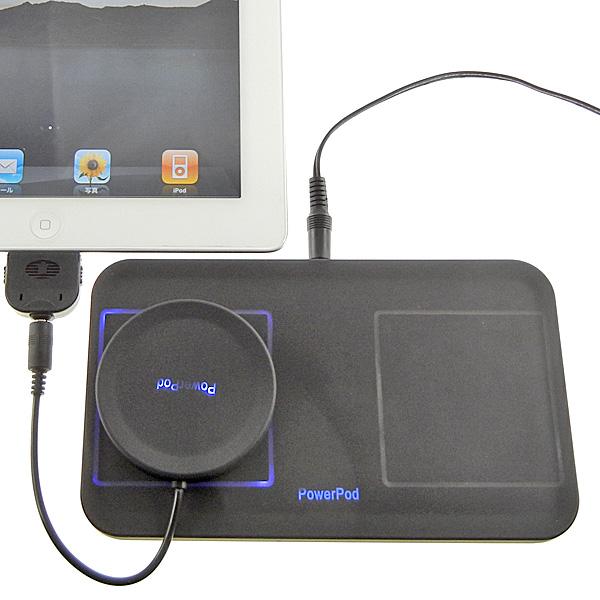 【上海問屋限定販売】 iPhoneやiPadを簡単充電 4種のコネクタに対応 無接点充電セット 販売開始