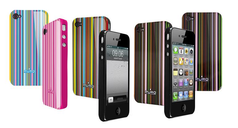 日本初上陸 PURO(プーロ) イタリア生まれのモバイルアクセサリー イタリアならではの洗練されたデザイン iPhone4S/iPhone4 専用アクセサリー販売開始