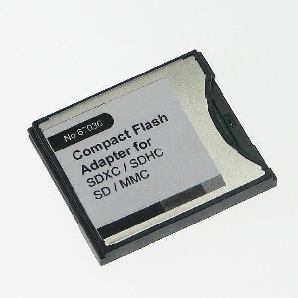 【上海問屋限定販売】 手持ちのメモリカードがコンパクトフラッシュに早変わり CFカード変換アダプタシリーズ販売開始