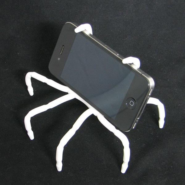 【上海問屋限定販売】iPhone やiPad、タブレット端末や文庫本 クモのような不思議な形でしっかりホールド フレキシブルマルチスタンド販売開始