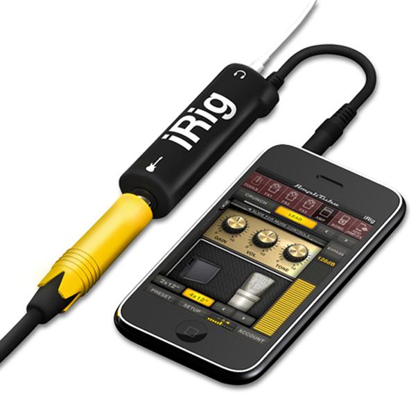 【上海問屋限定販売】 iPhoneやiPadを強力なギターアンプやエフェクターに ポータブル・ギターアンプ販売開始