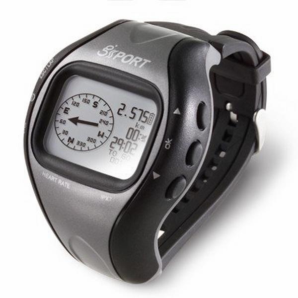 【上海問屋限定販売】 高性能「SiRFStarIII」チップ採用 走行軌跡の記録やカロリー計算も スタイリッシュな腕時計型GPSロガー 販売開始