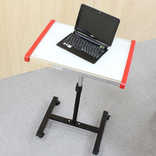 【上海問屋限定販売】 コンパクトでスタイリッシュなパソコンテーブル キャスター付きで移動もラクラク パソコン用テーブル3種 販売開始
