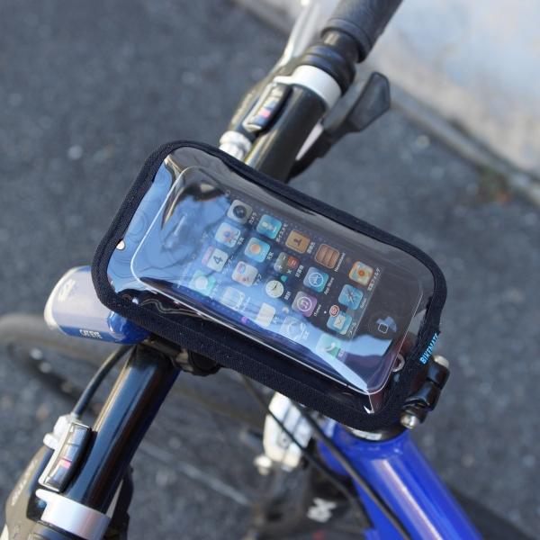 【上海問屋限定販売】 自転車にスマホのナビをつけよう iPhone Xperia対応自転車用スマートフォンホルダー販売開始