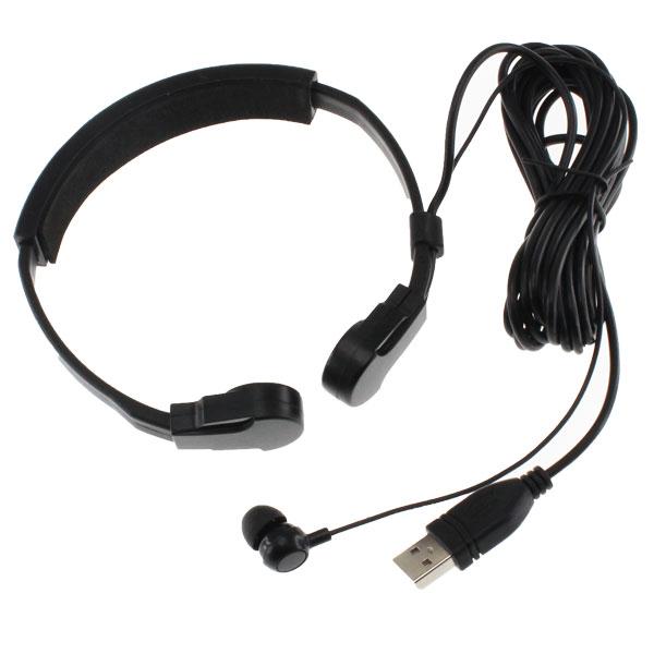 【上海問屋限定販売】 騒がしい場所でのボイスチャットなどに最適 ノドの振動を直接マイクが拾うからハッキリした音声 USB接続 咽喉マイク ヘッドセット販売開始
