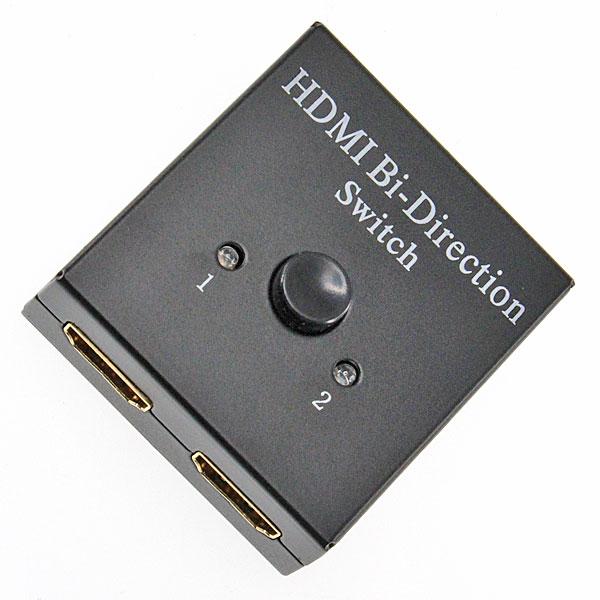【上海問屋限定販売】 ゲーム機などのテレビ画面出力を手元で簡単切り替え HDMIミニスイッチ2ポート切替器 販売開始