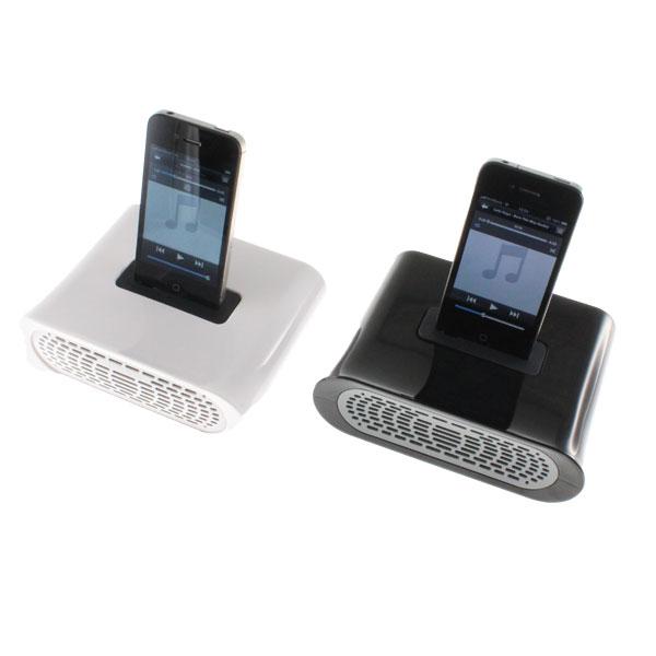 【上海問屋限定販売】 電源不要でどこでも楽しめる iPhoneの音楽を聞きながら充電台としても使用可能 iPhone・iPod touch用パッシブスピーカー 販売開始