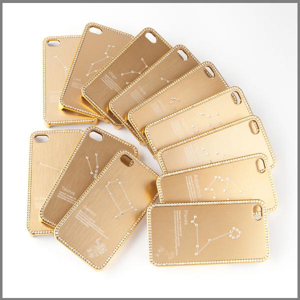 【上海問屋限定販売】 iPhone4-4Sを星座で彩ろう 星座モチーフを施した美しいiPhone4-4Sケース 販売開始