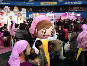 海外の女児市場を中心にシリーズ累計売上1,200万本超のクッキングママシリーズ 最新作 ニンテンドー3DS 「クッキングママ4」 「次世代ワールドホビーフェア'12 Winter」 に出展 大阪大会大盛況!次は東京大会へ!