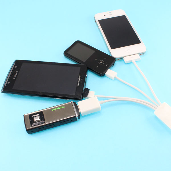 【上海問屋限定販売】 これ一本で様々な機器の充電が可能 iPhone iPad スマートフォン対応 4in1マルチUSB充電ケーブル 販売開始
