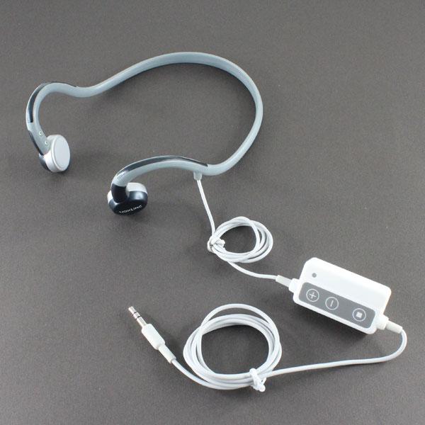 【上海問屋限定販売】 骨伝導だから圧倒的なライブ感 耳を塞がないから屋外でのスポーツ時にも安心 iPhone・スマホ対応骨伝導ヘッドフォン 販売開始