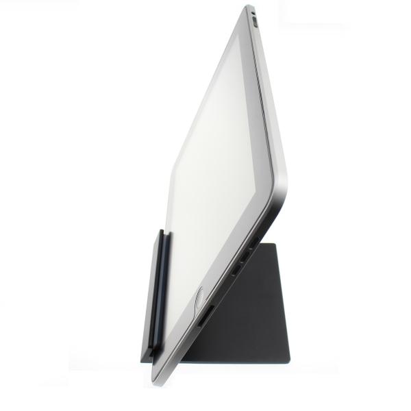 【上海問屋限定販売】 iPad/iPad2、タブレットをスタイリッシュに立てよう 極限まで無駄を省いたシンプルデザイン アルミ製タブレットスタンド 販売開始