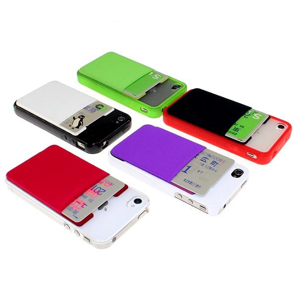 【上海問屋限定販売】 スマホとSuicaやPASMOをくっつけておでかけ iPhone GalaxySII 対応スマホ用ポケット 販売開始