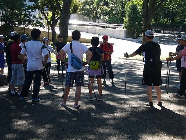 参加募集;愛好家急増中ノルディックウォーキングのフィットネスインストラクター養成講習会、2012年4月14日千葉県茂原市で
