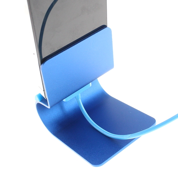 【上海問屋限定販売】メタリックな質感 ポップなカラーリングiPhone iPod スマホ用 アルミ製モバイルスタンド 販売開始