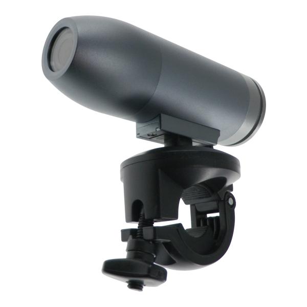 【上海問屋限定販売】 サイクリングやスポーツ観戦に オンボード720P撮影可能アルミボディ弾丸型カメラ販売開始