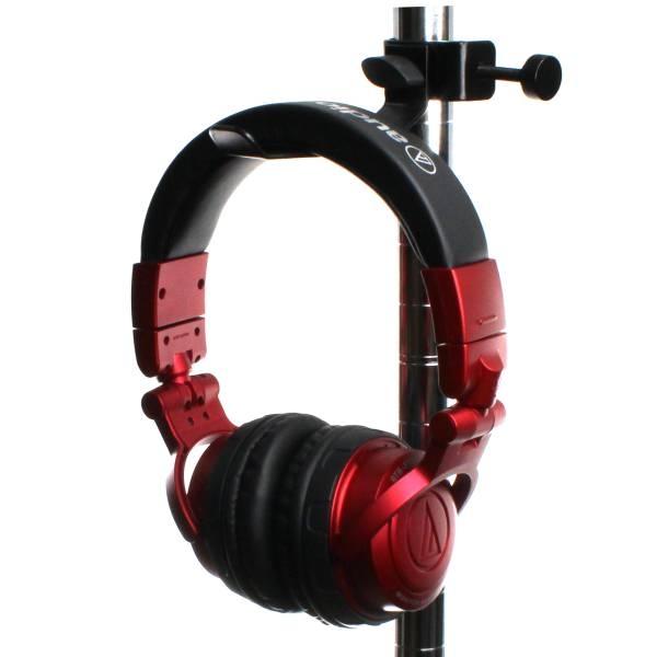 【上海問屋限定販売】ヘッドフォンをディスプレイしながら保管 ポール状の場所にも設置可能 シンプルなヘッドフォンホルダー販売開始