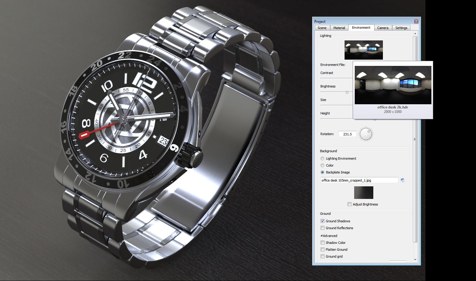 誰でも簡単に高品質の画像/アニメーションを作成するCGソフトKeyShot