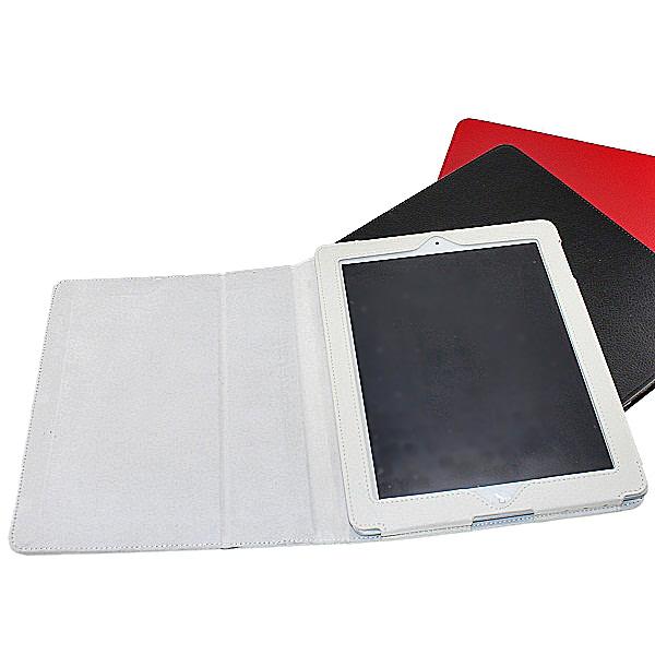 【上海問屋限定販売】新型iPad(第三世代) スリープ機能対応 ふたを閉めたらすぐにスリープ レザー風ケースカバー3色 販売開始