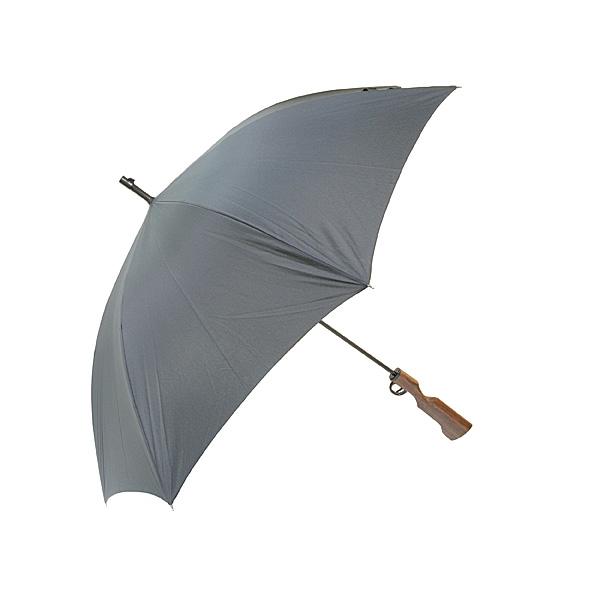【上海問屋限定販売】 雨の日を楽しく まるで狩人か西洋の兵士 面白傘2種 販売開始