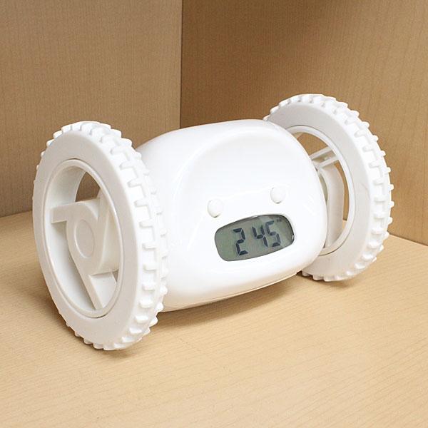 【上海問屋限定販売】必ず起きられる目覚まし時計 ランニングアラームクロック販売開始