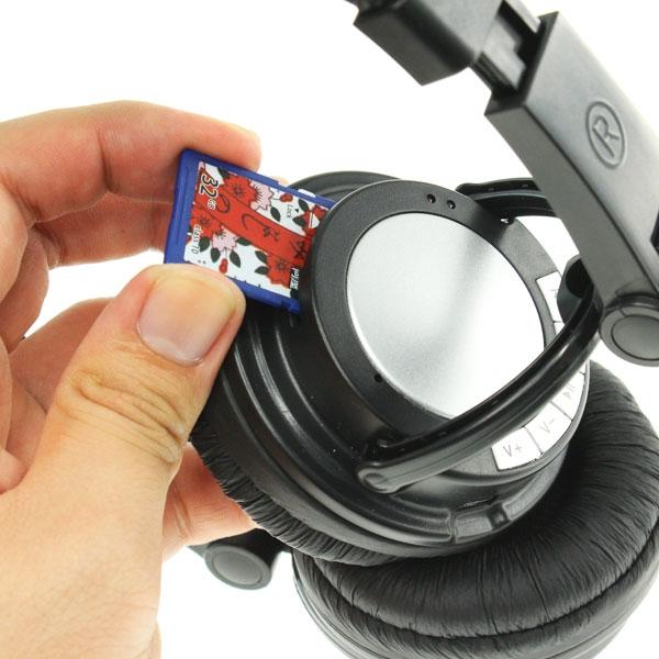 【上海問屋限定販売】ヘッドフォン一体型のMP3プレーヤー販売開始 普通のヘッドフォン、カードリーダーでも使用可能