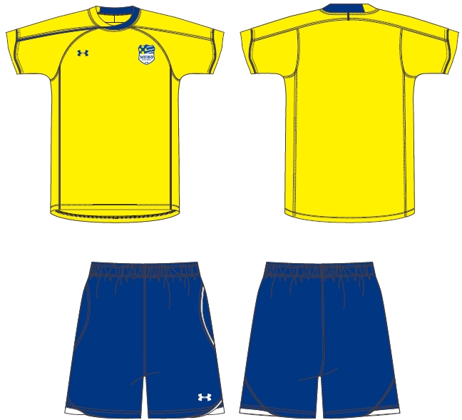 プロコーチが教える「明光サッカースクール」 創設10周年記念、ユニフォームを一新!